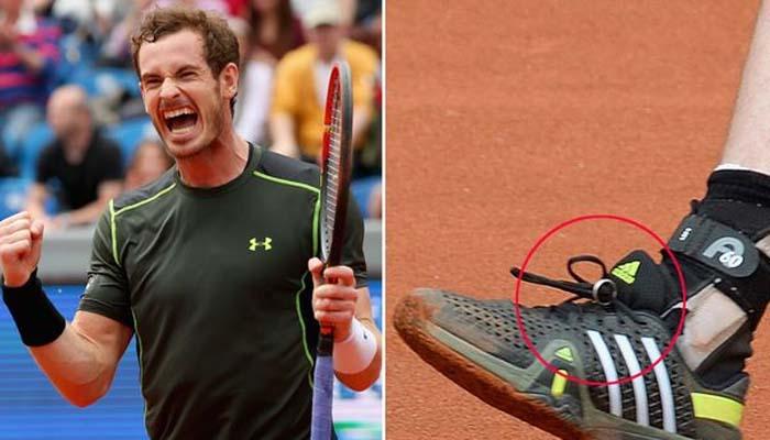 برطانوی ٹینس اسٹار نے کہا کہ ٹریننگ پرکوچ نے پوچھا کہ انگوٹھی کہاں ہے تو اُنہیں یاد آیا کہ انگھوٹھی تو جوتے کے ساتھ باندھی تھی —فوٹو: فائل