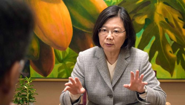 اپنے جزیرے کے دفاع کے لیے جمہوری انداز میں جدوجہد جاری رکھیں گے: صدر تائیوان. فوٹو: فائل