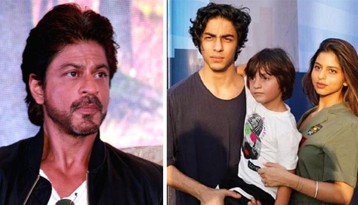 بھارتی میڈیا کو دیے گئے مختلف انٹرویوز کے دوران شاہ رخ اپنے بچوں سہانا اور آریان کی تربیت پر فخر بھی کرچکے ہیں/ فائل فوٹو