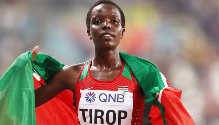 ایگنس نے 2012 اور 2014 میں جونیئر عالمی چیمپئن شپ میں 5000 میٹر میں کانسی کا تمغہ جیتا — فوٹو: فائل