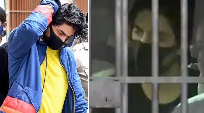 آریان کو جیل میں قیدی نمبر الاٹ کردیا گیا
