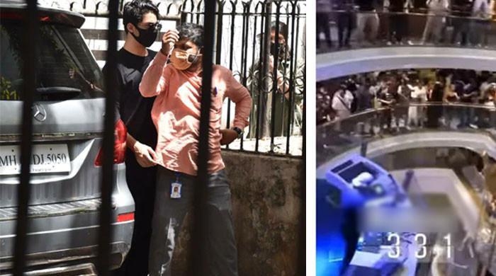 آریان کی گرفتاری: کروز شپ پر ہونیوالی پارٹی کی ویڈیو سامنے آگئی