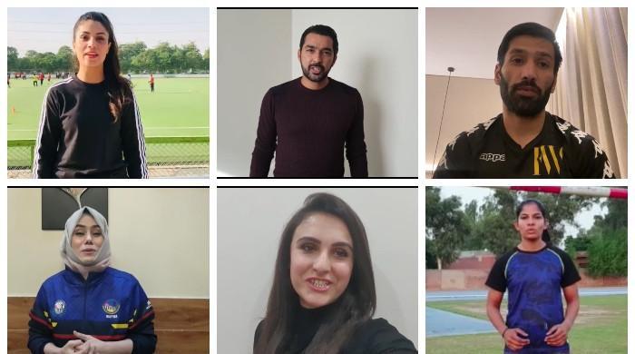 ٹی ٹوئنٹی ورلڈکپ : پاکستانی ایتھلیٹس کا قومی ٹیم کیلئے نیک خواہشات کا اظہار