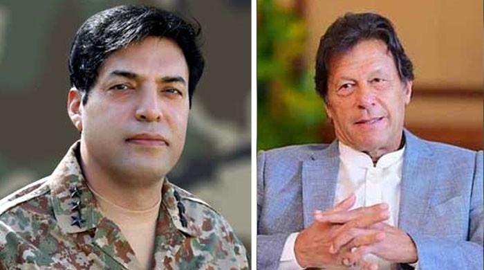 وزیراعظم عمران خان سے لیفٹیننٹ جنرل ندیم انجم کی ملاقات