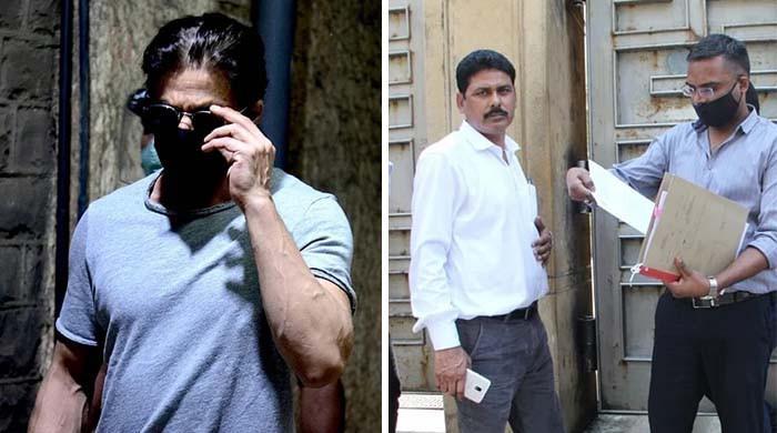 نارکوٹکس کنٹرول بیورو کا شاہ رخ خان کے گھر پر چھاپہ