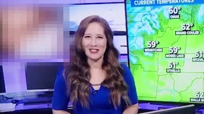 امریکی نیوز چینل پر موسم کی خبر کے دوران فحش ویڈیو چل گئی
