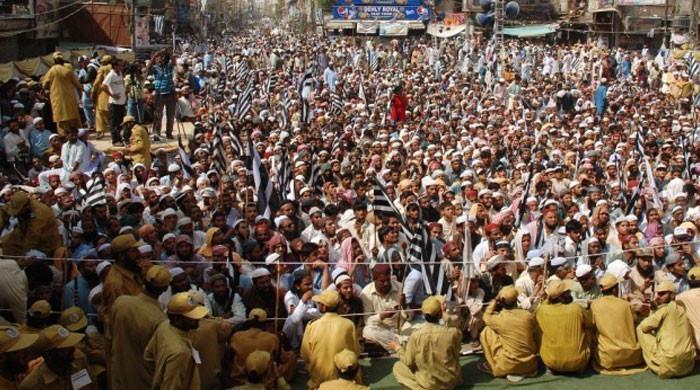 پی ڈی ایم کا کراچی، لاہور، پشاور و دیگر شہروں میں نماز جمعہ کے بعد مظاہروں کا اعلان