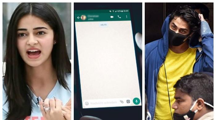 'میں تمہارے لیے گانجے کا انتظام کرنیکی کوشش کروں گی':آریان اننیا کی چیٹ لیک
