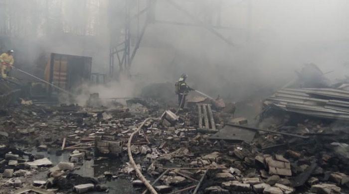 روس کے کیمیکل پلانٹ میں دھماکا، 16 افراد ہلاک