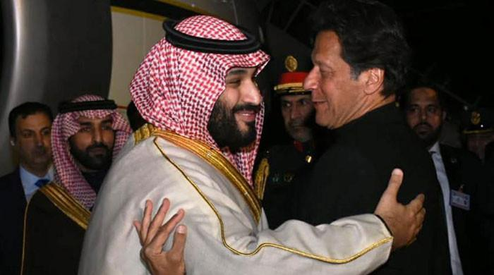 سعودی ولی عہد کی دعوت پر وزیراعظم سعودی عرب کا دورہ کریں گے