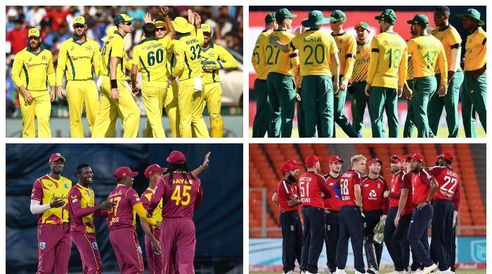 ورلڈ کپ سپر 12: چار بڑی ٹیمیں آج آپس میں ٹکرانے کیلئے تیار