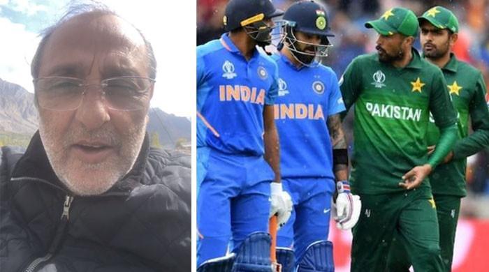 پاک بھارت ٹاکرا: ساجد حسن ٹیم کیلئے دعا کرنے پہاڑوں پر پہنچ گئے
