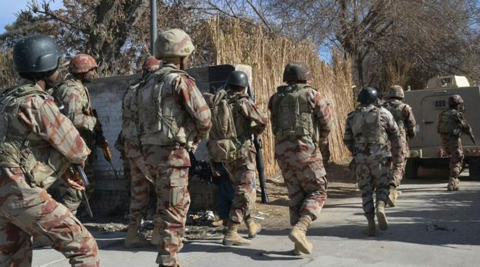 ہرنائی میں سکیورٹی فورسز کا آپریشن، بی ایل اے کمانڈر سمیت 6 دہشت ہلاک